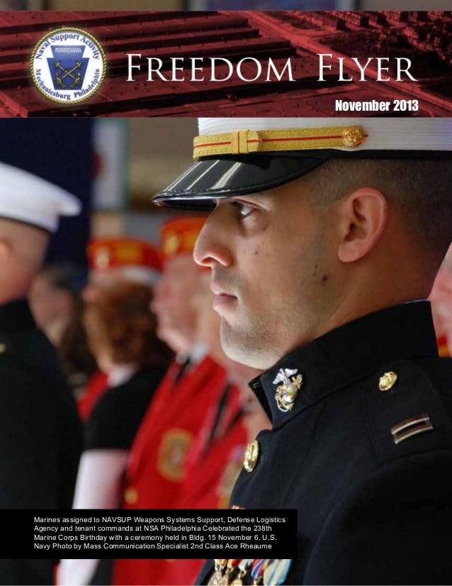 November 2013 NSAP Freedom Flyer