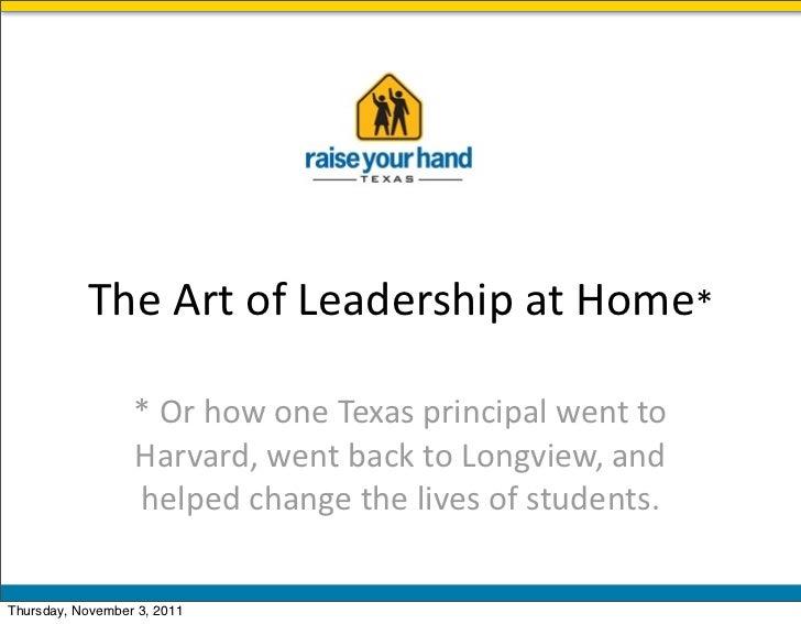 RYHT Leadership Program Alum Brings Big Changes