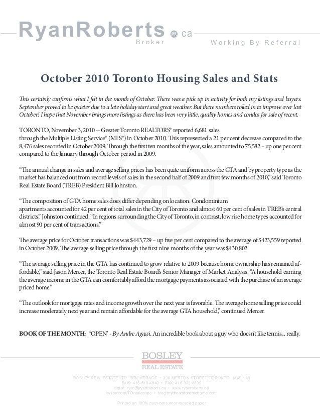 November newsletter ryan roberts real estate broker