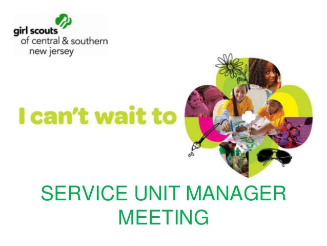 SERVICE UNIT MANAGER MEETING