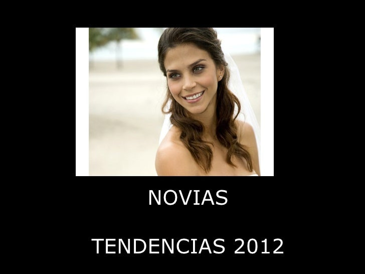 NOVIASTENDENCIAS 2012