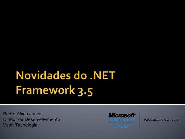 Novidades do .NET 3.5