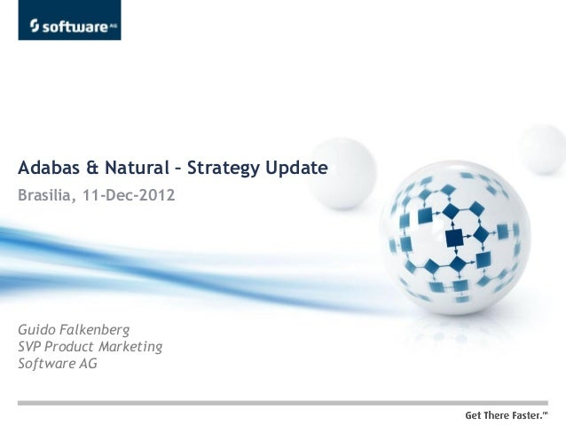Adabas & Natural – Strategy UpdateBrasilia, 11-Dec-2012Guido FalkenbergSVP Product MarketingSoftware AG