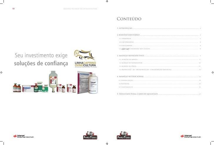 Manual Técnico de Ovinocultura