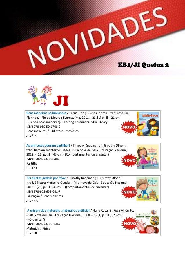 EB1/JI Queluz 2  JI Boas maneiras na biblioteca / Carrie Finn ; il. Chris Lensch ; trad. Catarina Florindo. - Rio de Mouro...