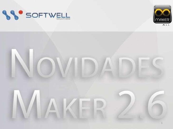 Novidades do Maker 2.6