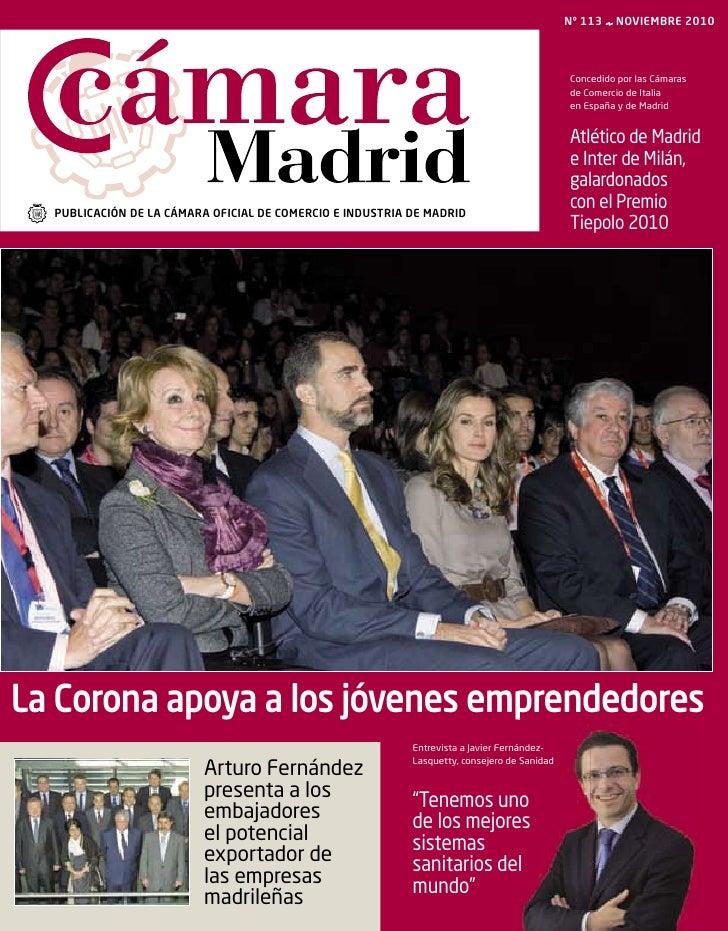 Revista Cámara Madrid noviembre 2010
