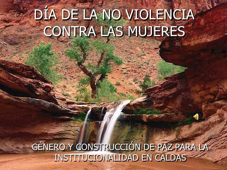 No Violencia Contra Las Mujeres