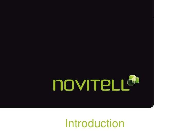 Introduction to Novitell Fusion