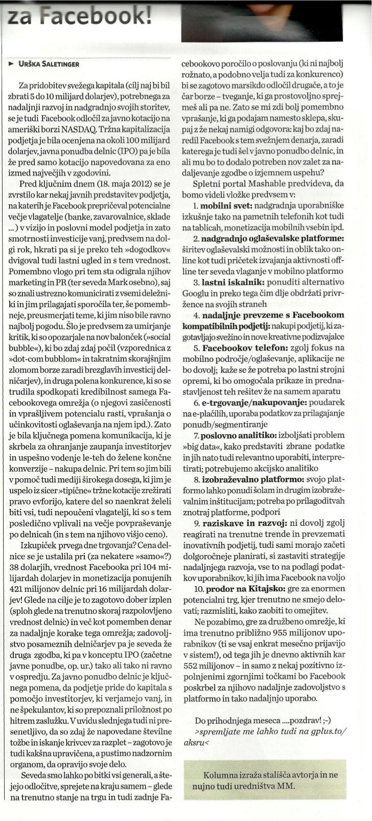Nov kapital, nove investicije za Facebook__Marketing Magazin_sep2012_st.376_str.16