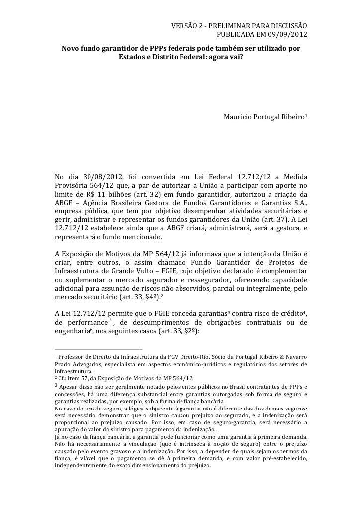VERSÃO 2 -‐ PRELIMINAR PARA DISCUSSÃO                                                                        ...