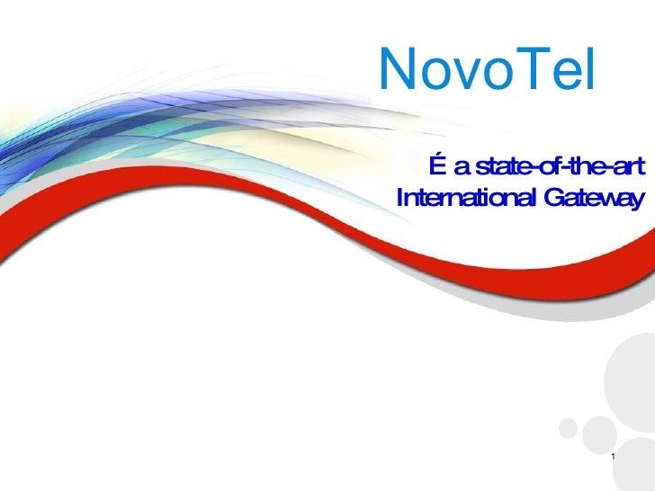 Novo Tel Presentation.