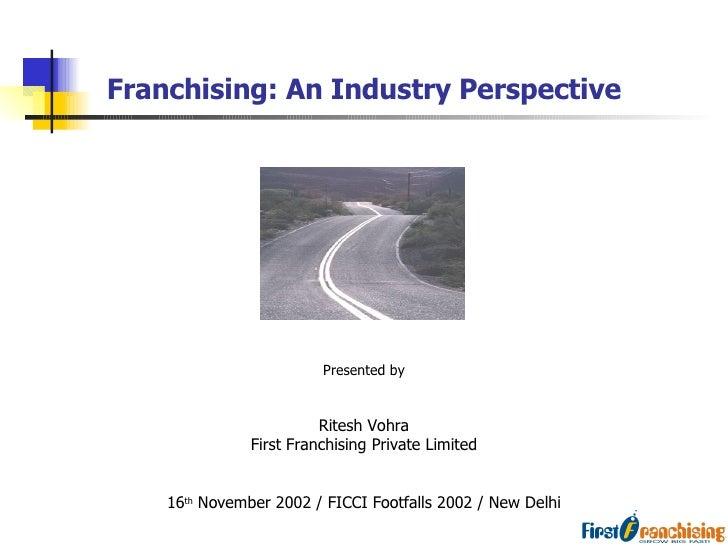 Nov Retail Franchising