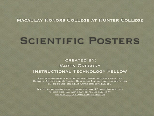 Nov scientific posters