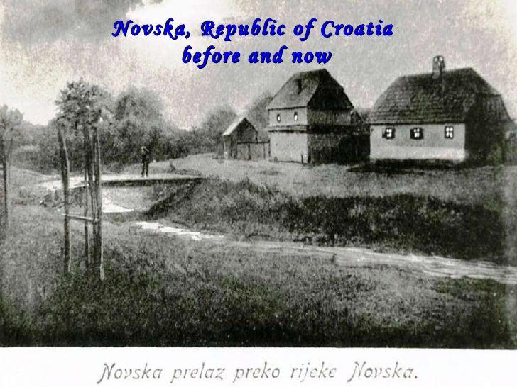 Novska, Before and Now