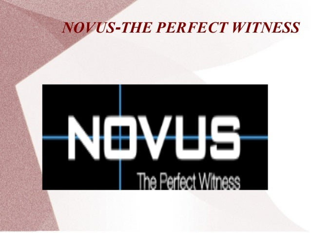 Novus car dash camera