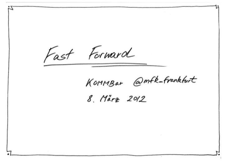 Beschleunigung via Twitter (Input)
