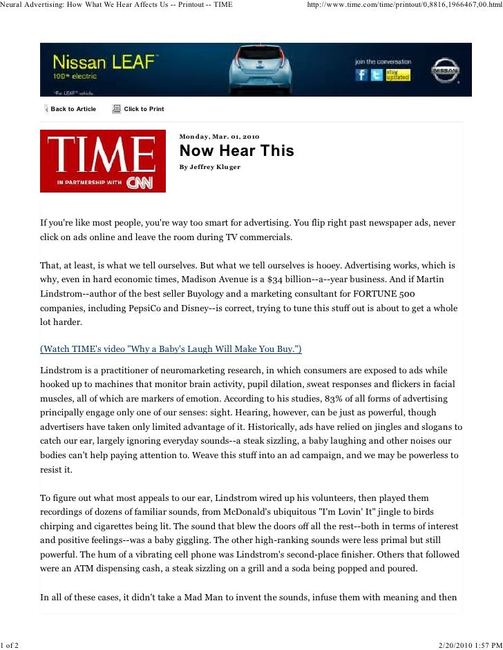 Neural Advertising: How What We Hear Affects Us -- Printout -- TIME            http://www.time.com/time/printout/0,8816,19...