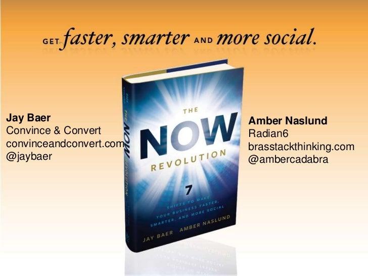 Jay Baer<br />Convince & Convert<br />convinceandconvert.com<br />@jaybaer<br />Amber Naslund<br />Radian6<br />brasstackt...