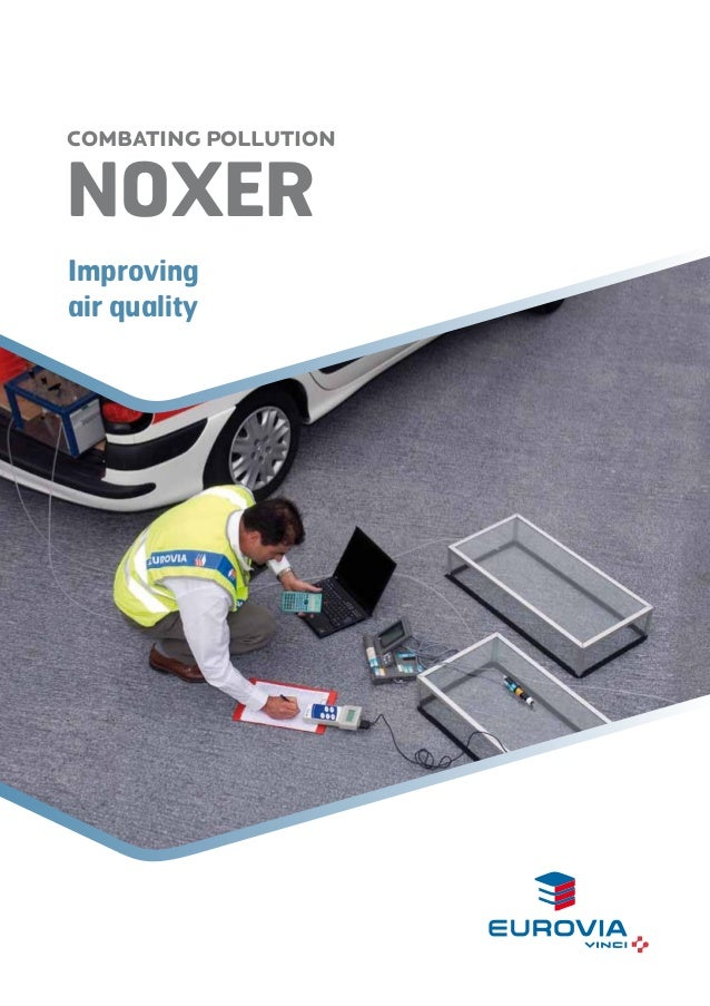 COMBATING POLLUTION  NOxer Improving air quality