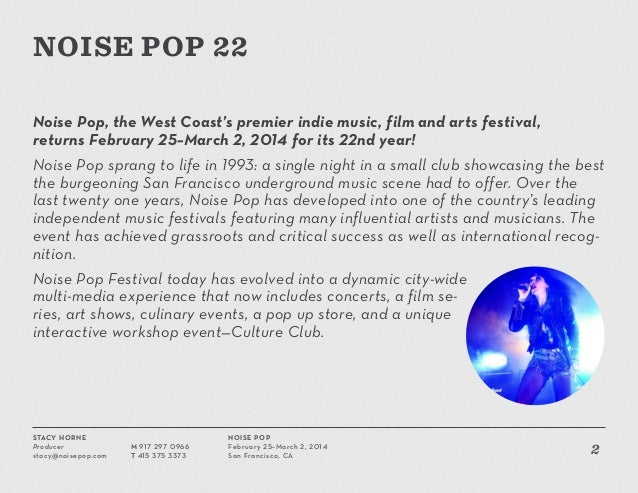 Playlist: Stream 50 bands playing Noise Pop 2014