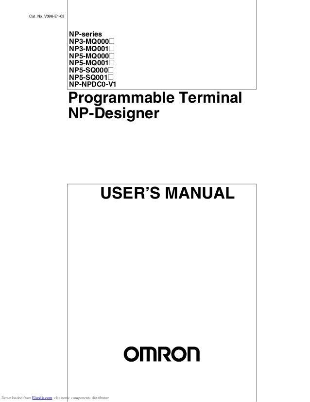 Np5 programmable terminal