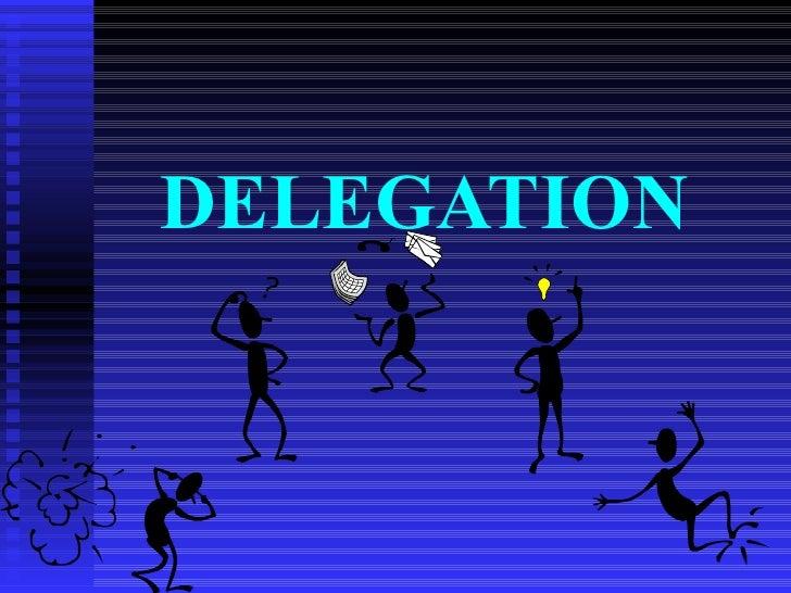 Npa and delegation