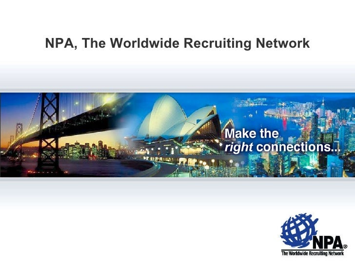 NPA, The Worldwide Recruiting Network