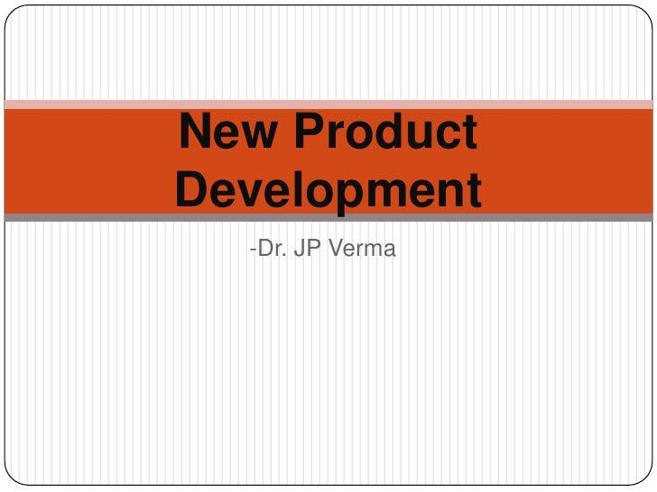 New Product Deveklopment