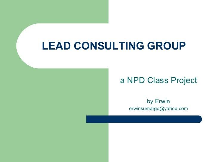 Npd Class Project