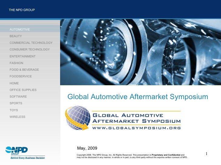 Npd 2009 Global Symposium Excerpts