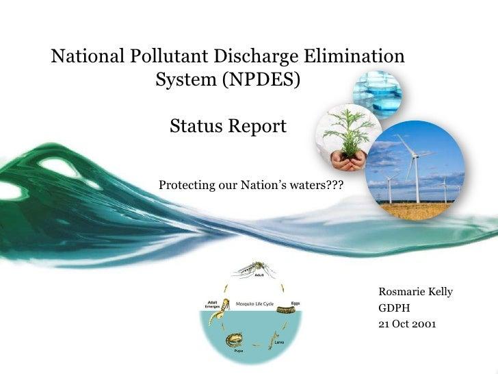 NPDES Update GMCA 2011