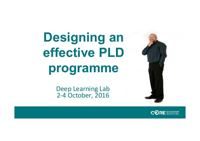 designing a learning programe