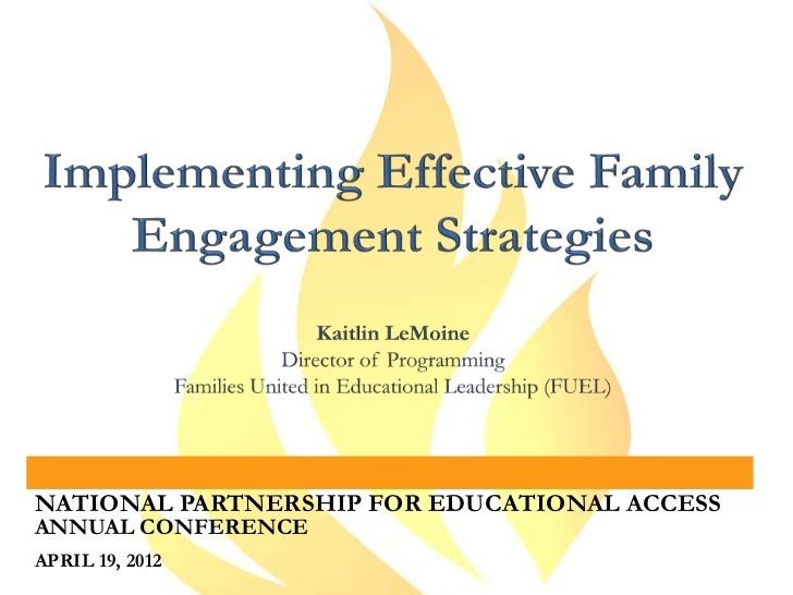 Implementing Effective Family Engagement Strategies