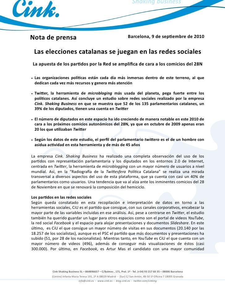 Estudio redes sociales Catalunya