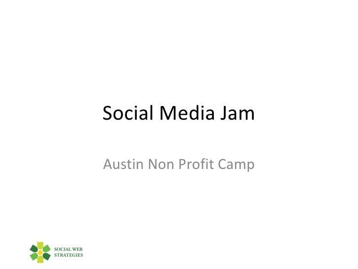 """Social Media Jam"" by Jon Lebkowsky"