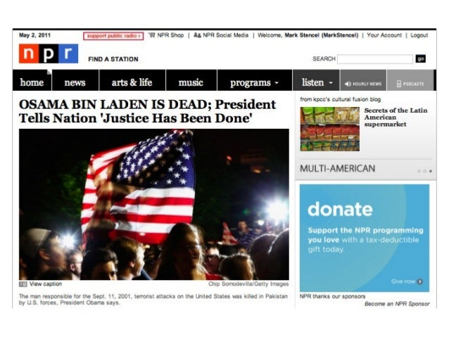 4 Years in 40 Slides: Digital News on NPR, 2009-2013