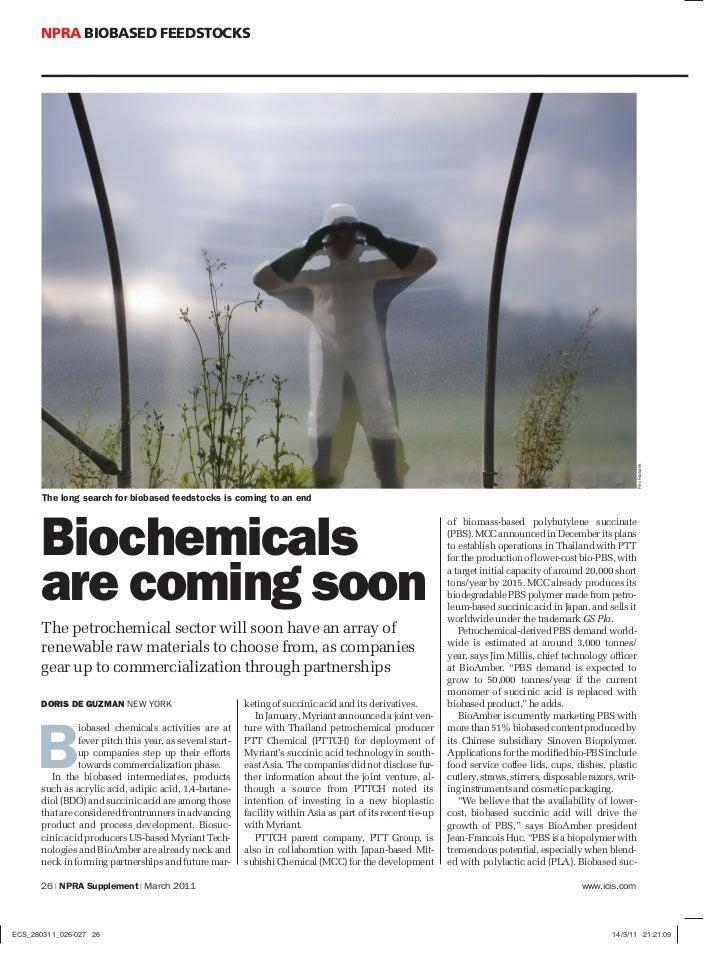 Npra biobased chemicals article 2011