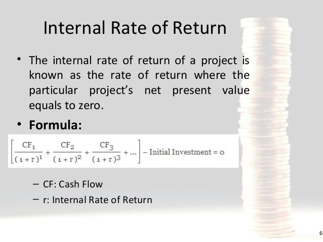 What is Internal Rate of Return (IRR)?