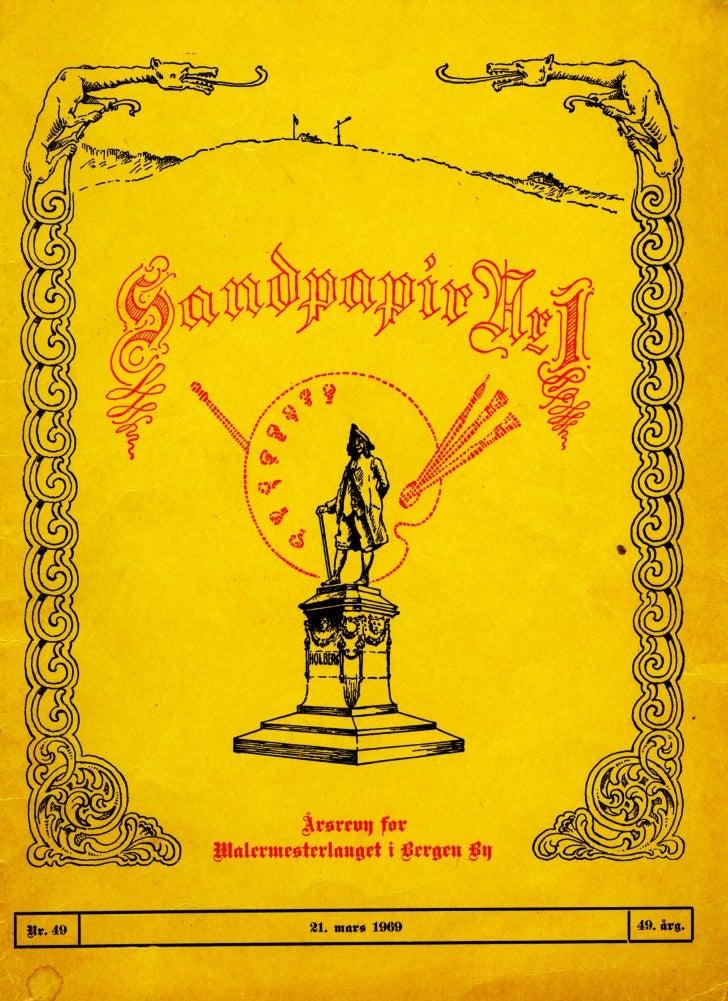Sandpapir Nr. 49 1969