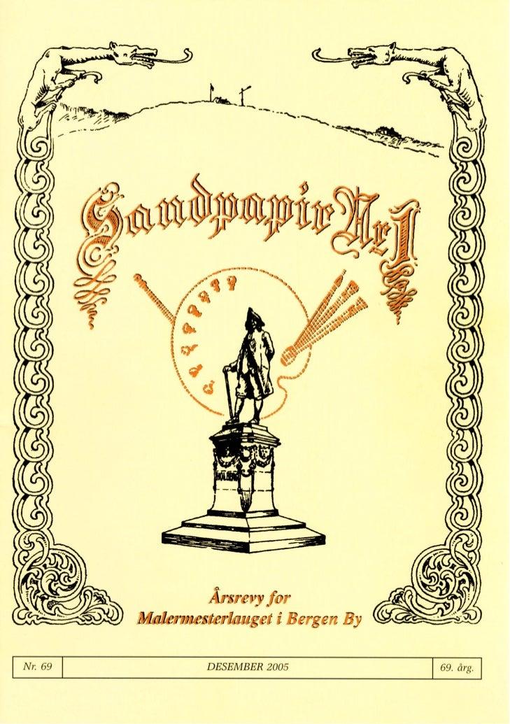 Sandpapir Nr. 69 2005