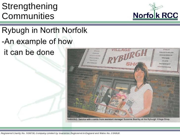 Nrcc Presentation Oct 09 Gt Ryburgh