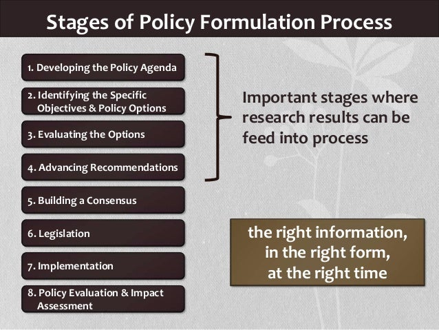 stages of public policy in sa Public policymaking in america modeling is a modern word that describes these methods of gaining analytical power opposition forces play in making public policy arising at any stage of the policymaking process, opponents follow a series of steps that parallel.