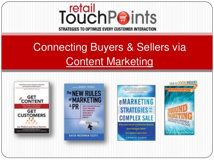 Connecting Buyers & Sellers via<br />Content Marketing<br />