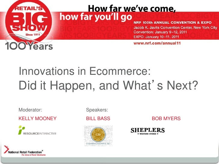 Innovations in Ecommerce: Did it Happen, and What's Next?
