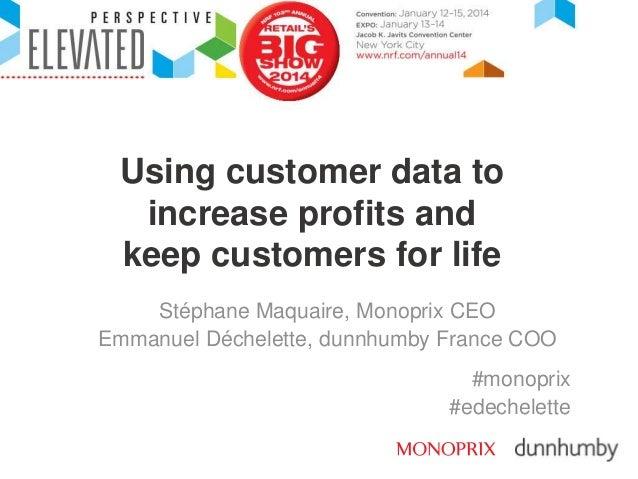 dunnhumby Monoprix NRF Presentation 2014