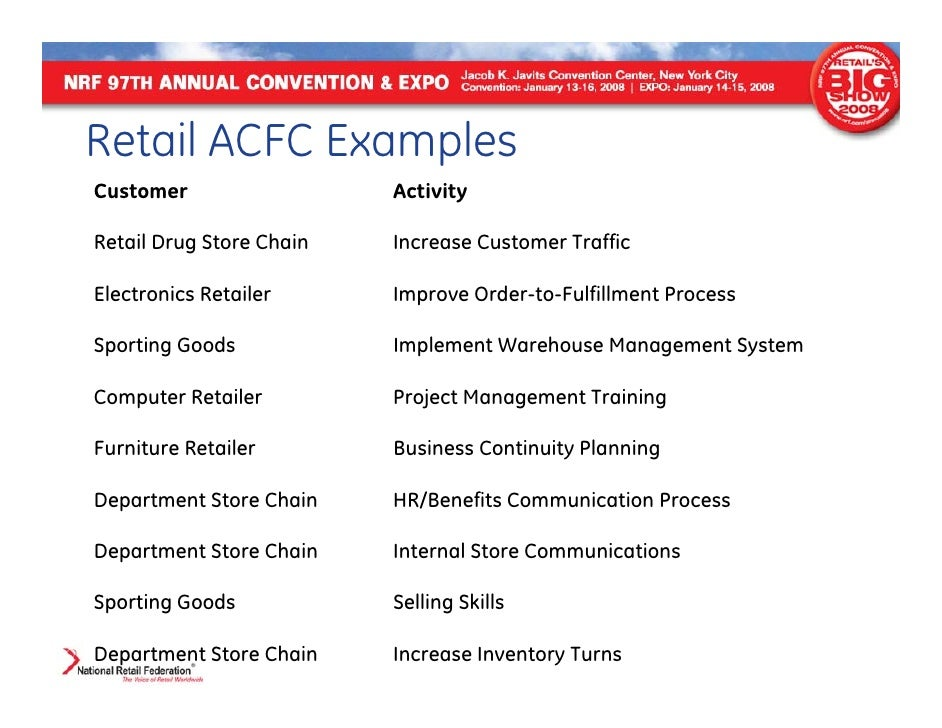 chain store business plan