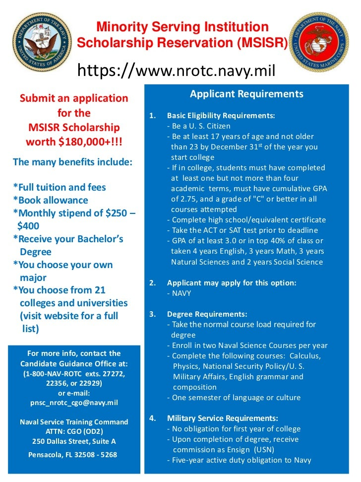 navy scholarship essay questions Explore the scholarship options at university of phoenix university of phoenix offers several financial scholarships and grant programs, and provides national.