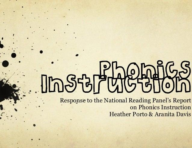 NRP Phonics Presentation