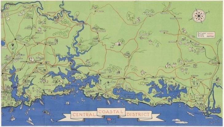 Tourist maps, 1930s